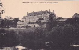 CPA 37 @ YZEURES @ Le Château De Marigny Côté Est @ H. Boutin Editeur D'Yzeures - Autres Communes