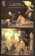 Antigua & Barbuda 2000 Yvertn° Bloc 470-471 *** MNH Cote 20 Euro Peintures Musée Du Prado - Antigua Et Barbuda (1981-...)