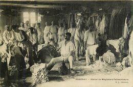 ANNONAY - Atelier De Mégissiers-Palissonneurs - Ardèche Cpa Ayant Voyagée En 1908 - Annonay