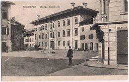 Tolmezzo (Udine) Piazza Garibaldi- Non Viaggiata - Udine