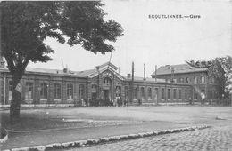 ¤¤  -  BELGIQUE   -  ERQUELINNES    -   La Gare   -  Chemin De Fer  -  ¤¤ - Erquelinnes