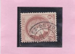 CERES N°51  Oblitéré CAD  MOREZ DU JURA   - REF 10417 - 1871-1875 Ceres