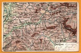 Carte Géographique - Gruss Aus ... - Italie - A.H. PAYNE - Zonder Classificatie