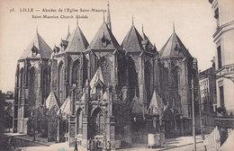 Lille Absides De L'Eglise Saint Maurice - Lille