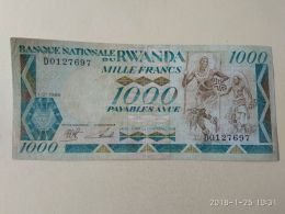 1000 Francs 1988 - Rwanda
