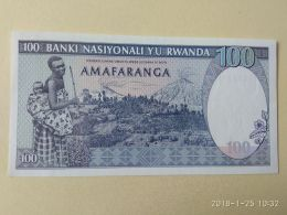 100 Francs 1989 - Rwanda