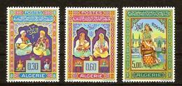 Algérie Algerije 1965 Yvertn° 411-413 (*) MH Cote 20 Euro - Algérie (1962-...)