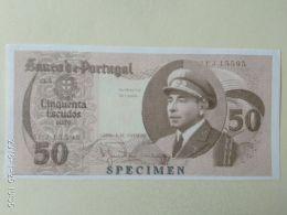50 Escudos 1958 COPIA - Portogallo