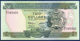 SOLOMON ISLANDS 2 DOLLARS P-13 FISHING 1986 UNC - Salomonseilanden
