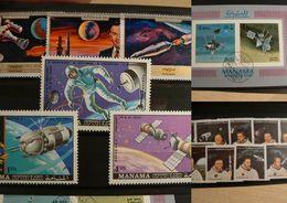 Lot Thème ESPACE - Stamps