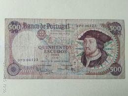 500 ESCUDOS 1966 - Portogallo