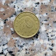 50 CENTESIMI D'EURO SPAGNA - CON DIFETTO DI CONIO - - Spagna