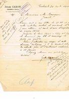 TURNHOUT 2 Oude Brieven 1894 Jules Caron - Turnhout