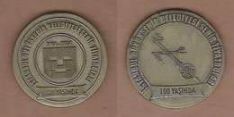 AC -  CENTENARY OF CITY THEATRES OF ISTANBUL MUNICIPALITY 1914 - 2014 TURKEY - Tokens & Medals