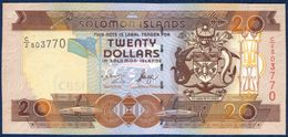 SOLOMON ISLANDS 20 DOLLARS P-28a 2004 UNC - Salomons