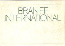 Braniff International - Autocollants Pour Valise - Aufkleber