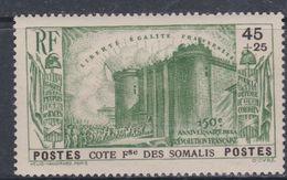 Cote Des Somalis N° 172  X : 150ème Anniv. De La Révolution : 45 C. + 25 C. Vert Trace De Charnière Sinon TB - Unclassified