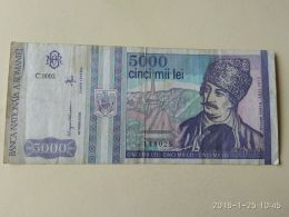 5000 Lei 1992 - Romania