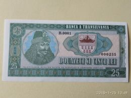 25 Lei Banca Transilvania FANTASIA - Romania
