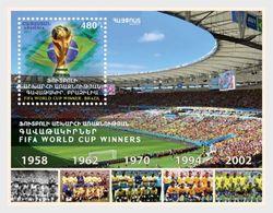 Armenië / Armenia - Postfris / MNH - Sheet Voetbalteam Brazilië 2018 - Armenië