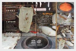 Armenië / Armenia - Postfris / MNH - Sheet UNESCO Cultureel Erfgoed 2018 - Armenië