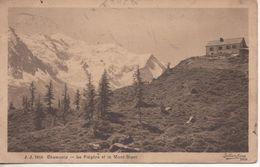 CHAMONIX LA FLEGERE ET LE MONT BLANC - Chamonix-Mont-Blanc