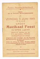 HEUSDEN   Berkenbosch 1945 Muzikaal Feest - Heusden-Zolder