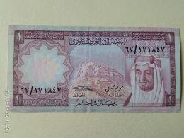 1 RIYAL 1977 - Arabia Saudita