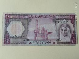 10 RIYALS 1977 - Arabia Saudita