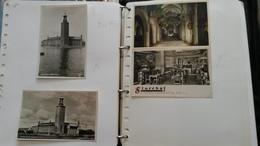 ALBUM DE 162 CARTES POSTALES ET PHOTOS SCANDINAVIE - Cartes Postales