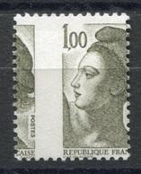 RC 6778 FRANCE 2185 - 1f LIBERTÉ DE GANDON VARIÉTÉ PIQUAGE A CHEVAL NEUF ** - Ongebruikt
