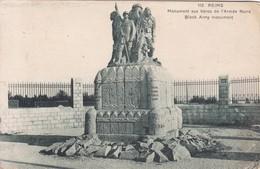 REIMS. MONUMENT AUX HEROS DE L'ARMEE NOIRE BLACK ARMY MONUMENT-FRANCE-TBE-BLEUP - Reims