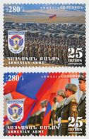 Armenië / Armenia - Postfris / MNH - Complete Set 25 Jaar Armeens Leger 2017 - Armenië