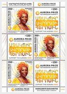 Armenië / Armenia - Postfris / MNH - Sheet Aurora Prize 2017 - Armenië