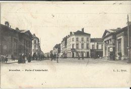 Anderlecht    Porte D'Anderlecht.  1900   Naar   Saint-Gillis - Anderlecht
