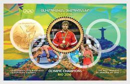 Armenië / Armenia - Postfris / MNH - Sheet Olympisch Kampioen Rio 2017 - Armenië