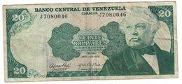 Venezuela 20 Bolivares 23/04/1974 - Venezuela