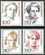 BRD - Mi 1390 / 1393 ✶✶ # - 100-170-240-350Pf    Frauen VI - Unused Stamps