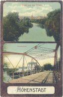 Cpa Allemagne – Hohenstadt  - Blick Von Der Brücke / Zohsebrücke ( Pont ) - Allemagne