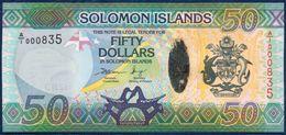 SOLOMON ISLANDS 50 DOLLARS P-35a LIZARD 2013 UNC - Solomon Islands