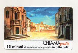 Telecom - Scheda Chiama Gratis - 2002 - COMUNE DI VIZZINI - 15 Minuti Di Conversazione Gratuita - NUOVA - (FDC7801) - [2] Sim Cards, Prepaid & Refills