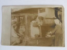 Foto Russischer Ofen Bauernstube Ca. 1915 Baranowitschi Landwehr Brigade Bredow 18. Landwehr-Division - Guerre 1914-18