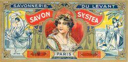 Etiquette Parfum Savonnerie Du Levant à Paris Savon Systea N°413 En Superbe.Etat - Labels