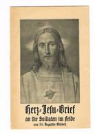 HERZ JESU BRIEF An Die Soldaten In Felde - Altri