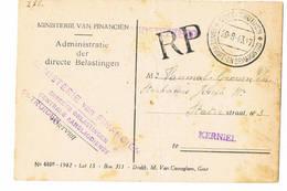 Poststuk  Sint Truiden 1943 - German Occupation