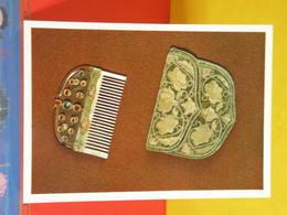Carte Publicité > Art Antiquité Culturel > Comb And Case - Peigne Et étui > Russie-Moscow-Kremlin 1976 - Antiquité