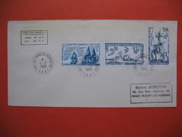 TAAF Lettre Port-Aux-Français - Kerguelen Pour La France N° PA58 Et  79 Et 80  Du 1/2/1980 - Briefe U. Dokumente