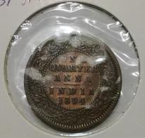 @Y@    Brits Indis   1/4 Anna  1894    (2614) - India