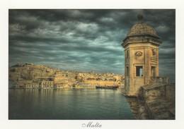 POSTCARDS OF MALTA / STORMY VALLETTA - Malta