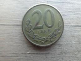 Albanie  20  Leke  2012  Km !!! - Albania